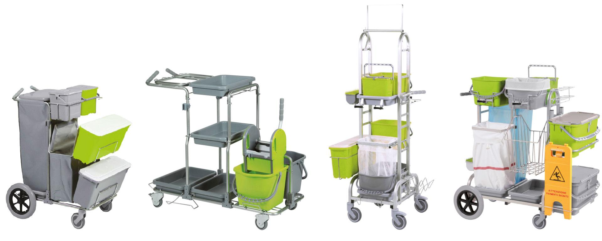 EPD certified cleaning trolleys