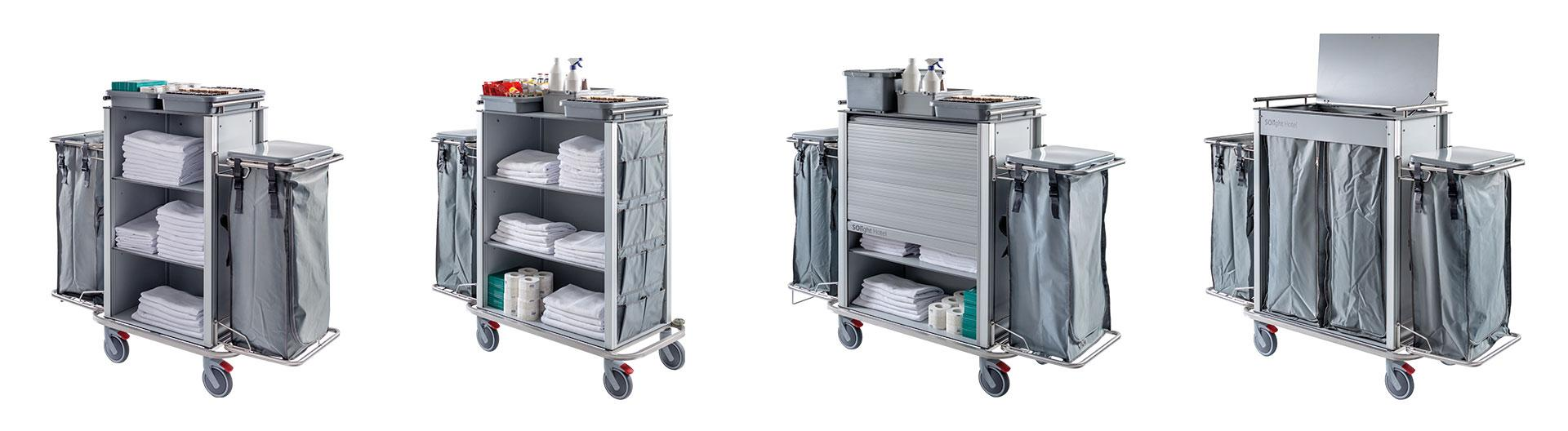 Solight Housekeeping trolleys for hotel