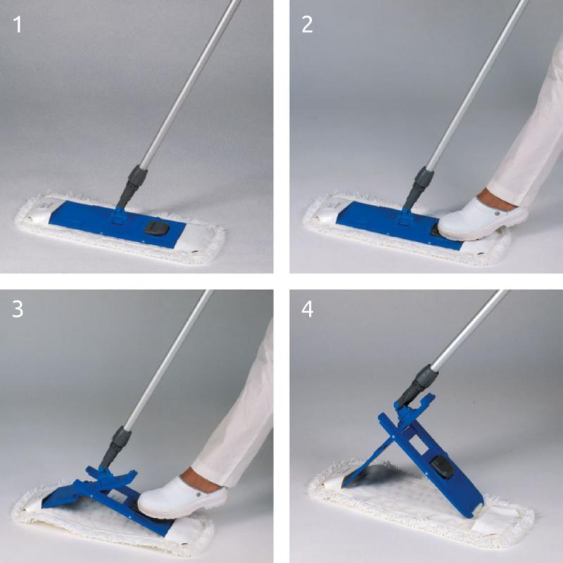 Rapid flat washing system