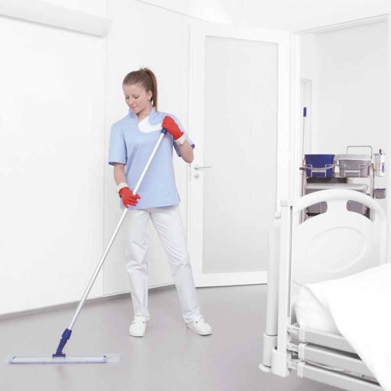 Microrapid cleaning system for hospital